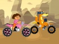 Permainan Dora The Explorer Racing. Main online